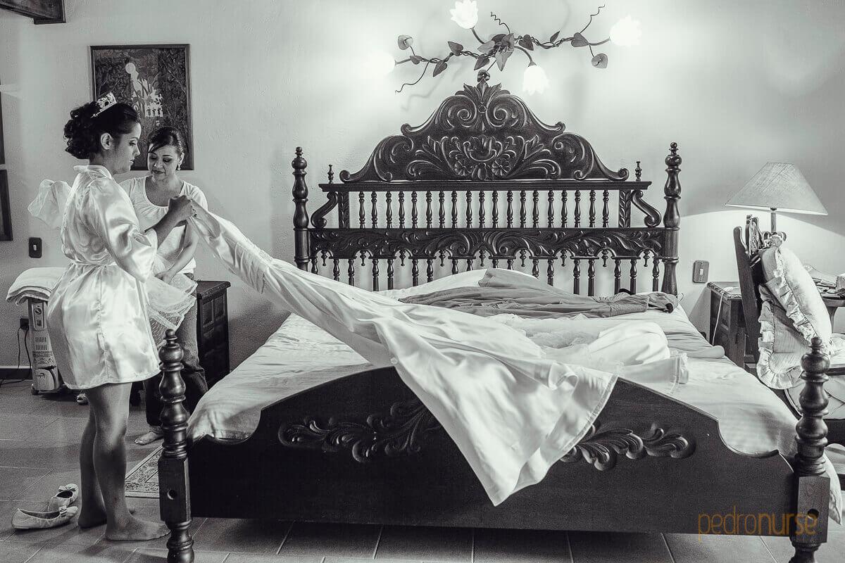 Fotos de Vestido de Novia en Hotel Selva Negra La Colonia Tovar