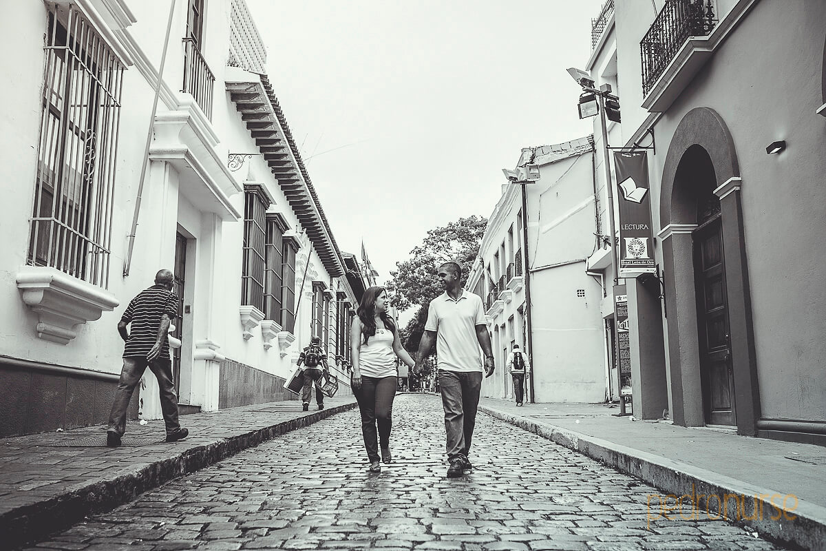 sesion preboda fotos novio novia calle piedra caracas