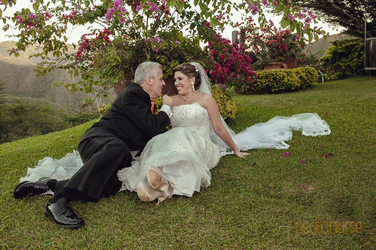 sesion fotos novio novia en casa campo caracas venezuela