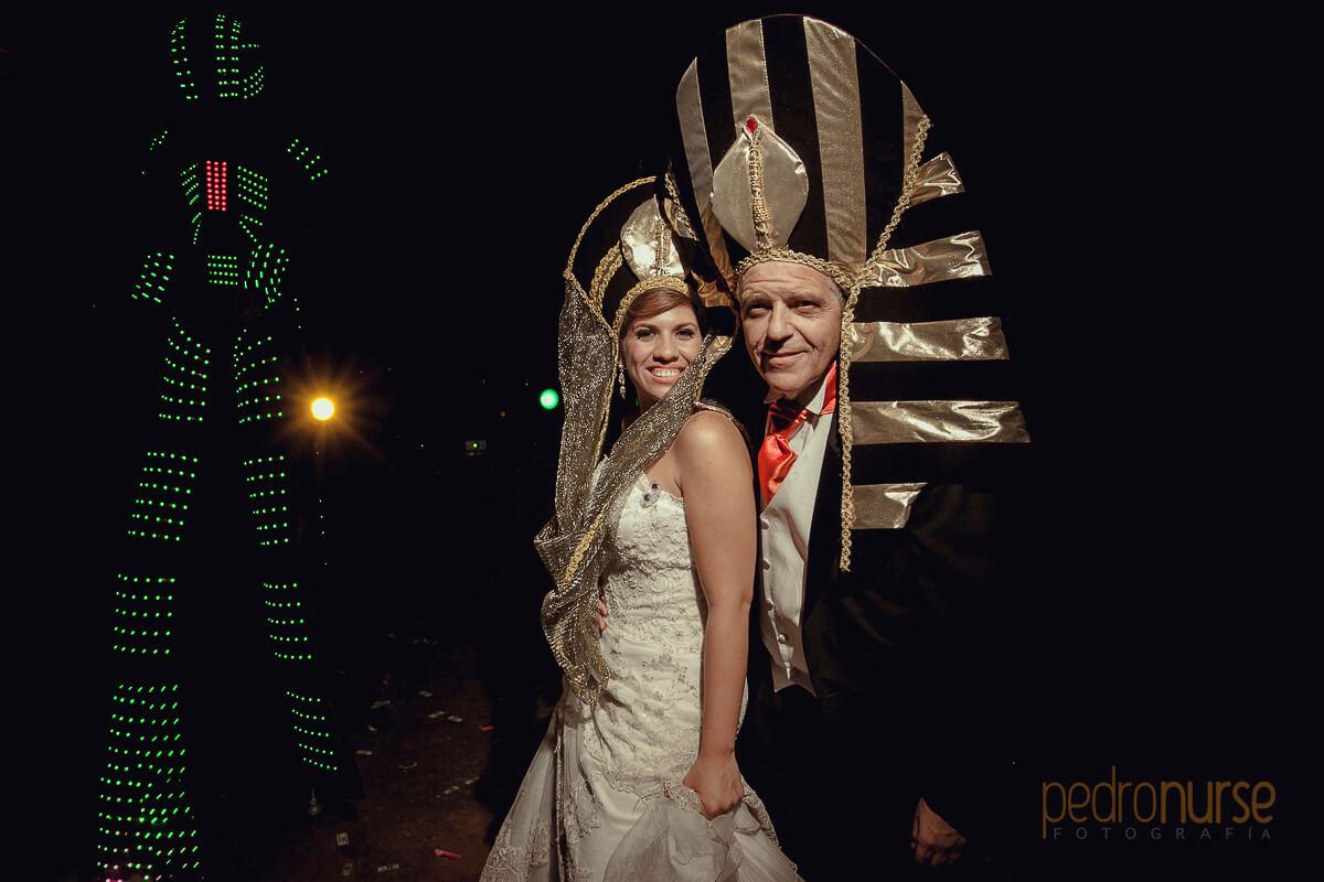 sombreros especiales para novia y novio