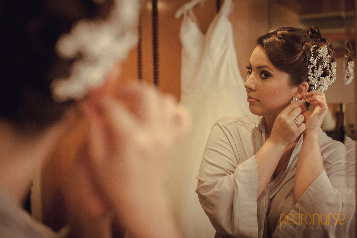 fotos de preparativos novia boda en hotel eurobuilding caracas