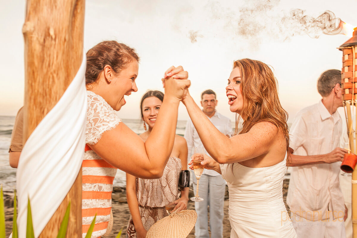fotografia de boda posada siete mares