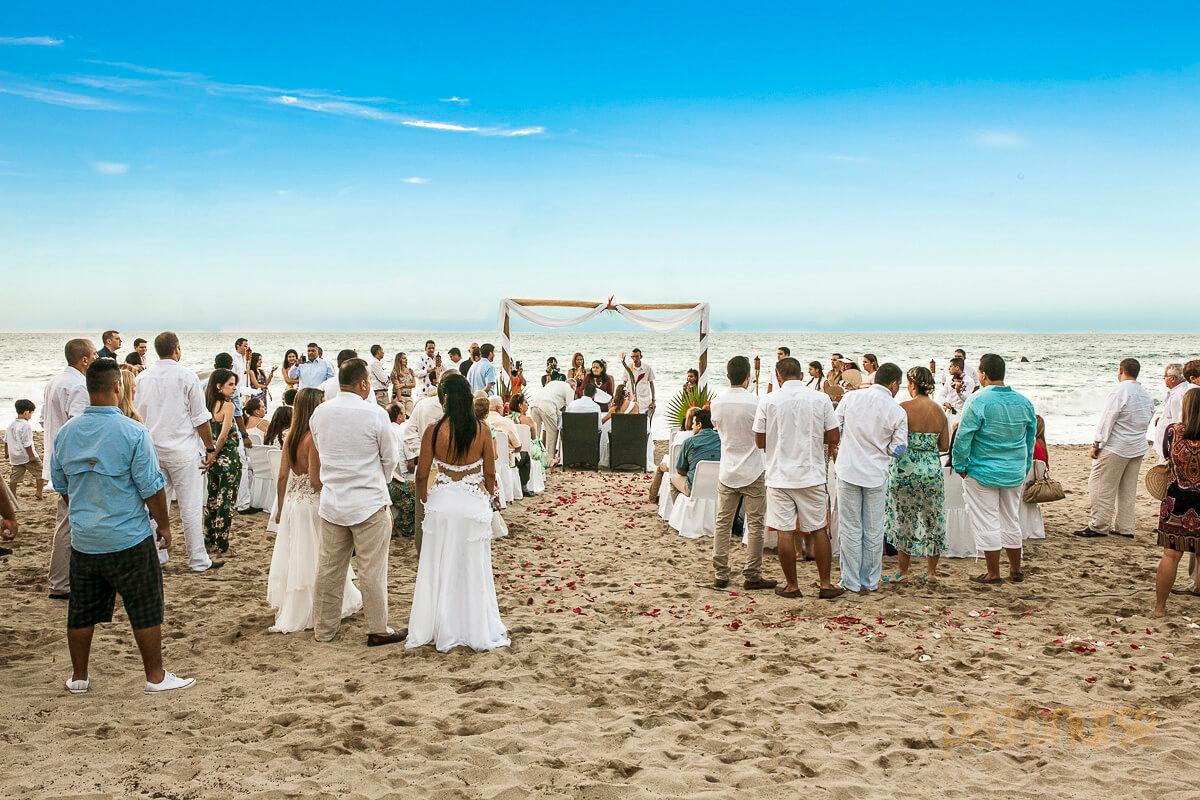 fotografia de bodas en la playa venezuela Los Roques