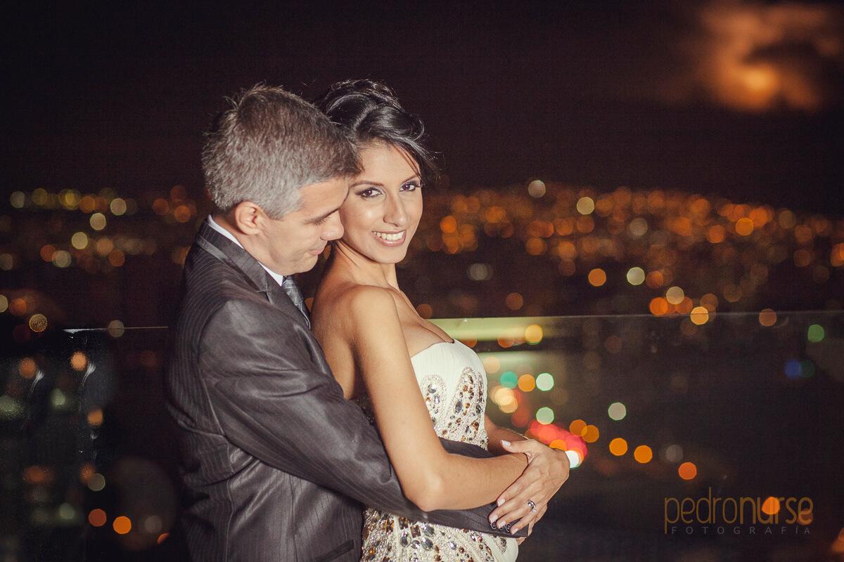 fotografia de sesion de fotos de noche novia novio caracas