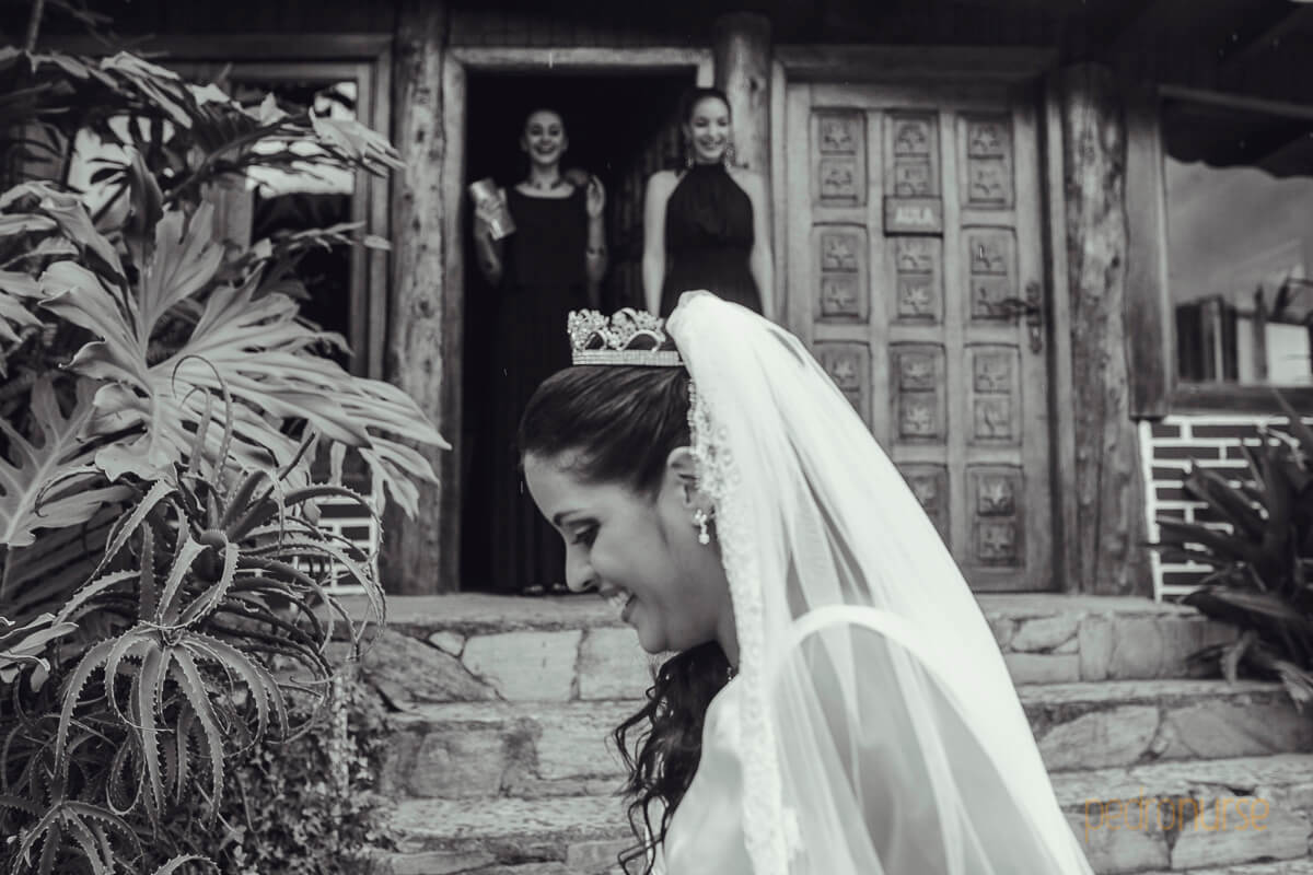 novia en boda en hotel selva negra colonia tovar