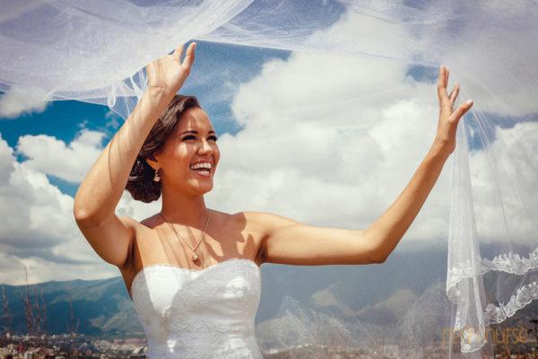 sesion fotos novia cielo nubes boda caracas