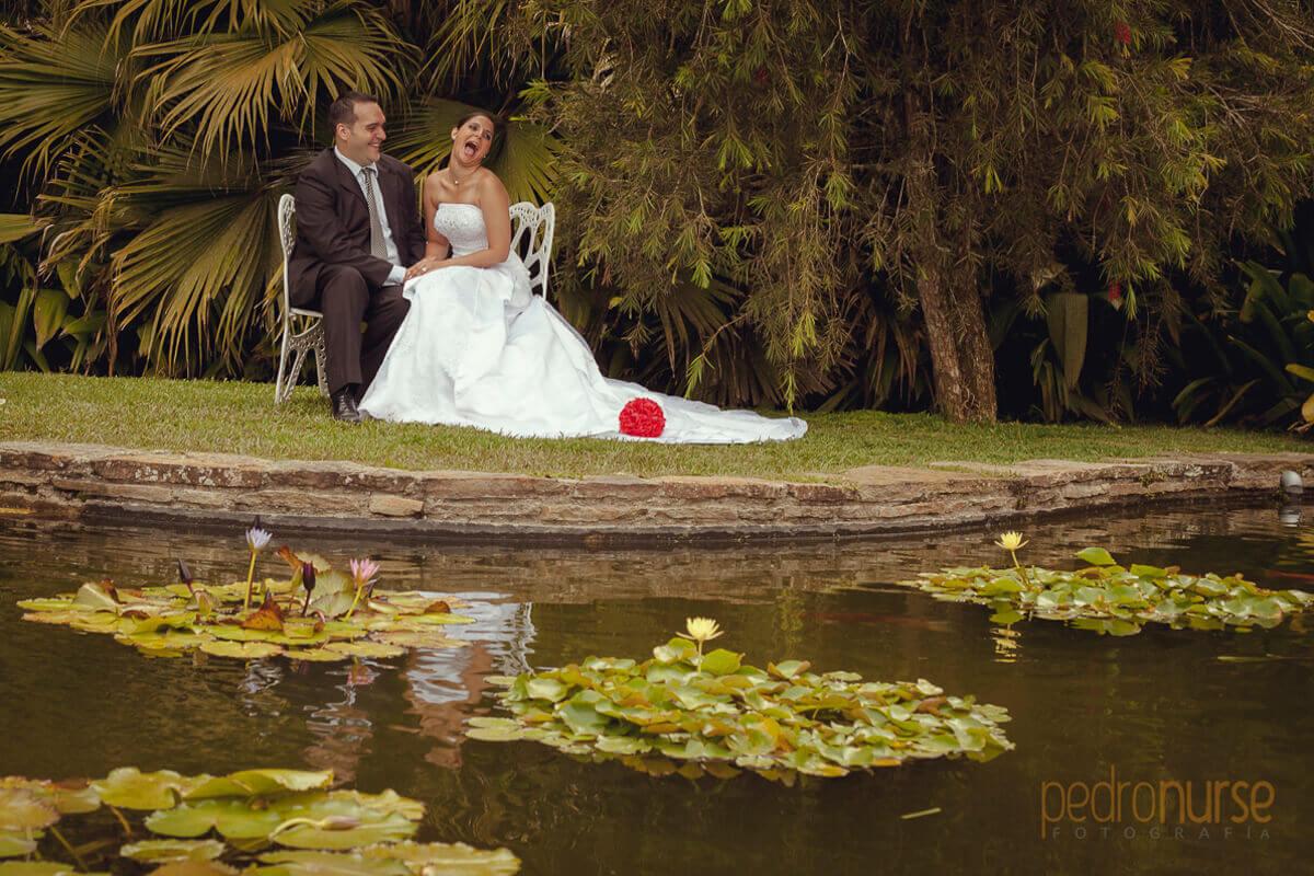 Fotografia de PostBoda en laguna Jardines Topotepuy