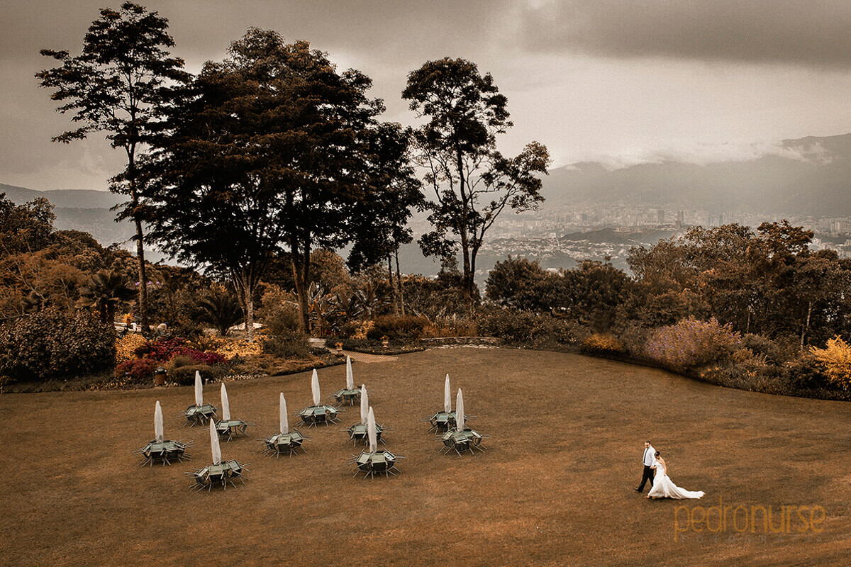 fotos de trash the dress Caracas Cerro el Avila