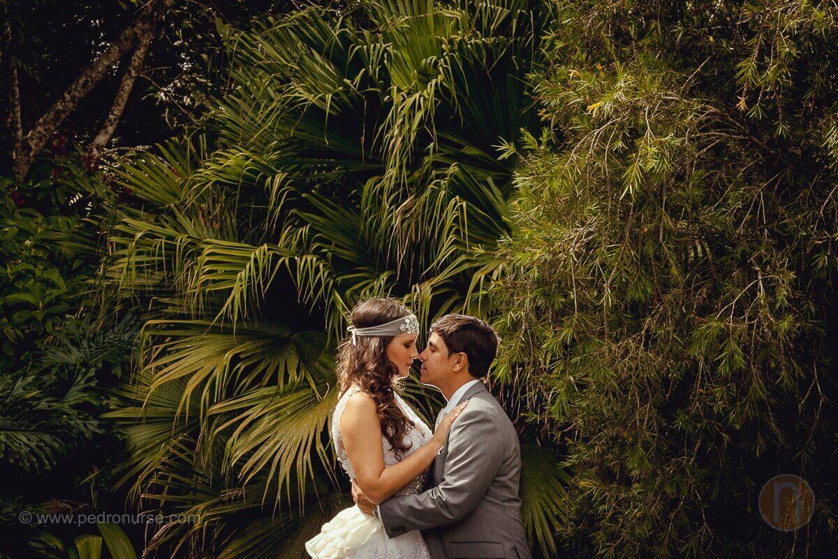sesion fotografias postboda romantica novia y novio