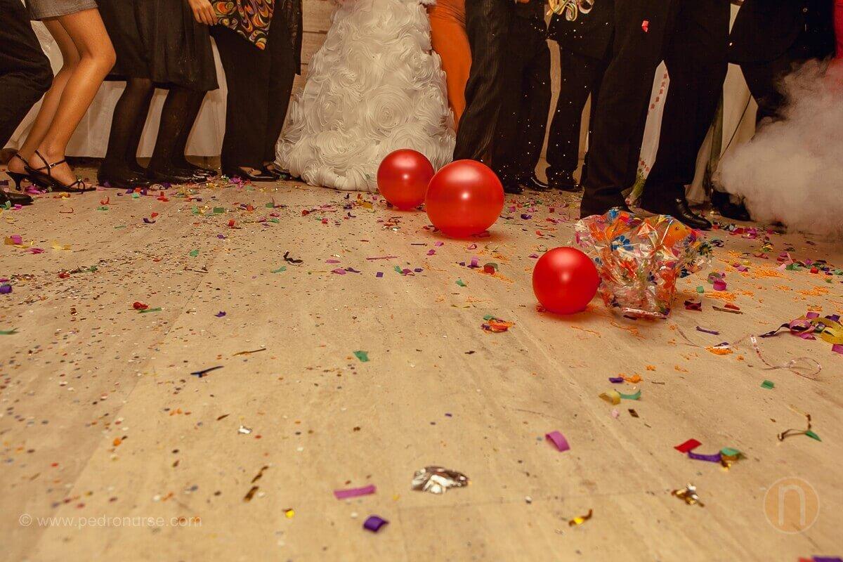fotos de hora loca cotillon papelillos en boda en valencia estado carabobo