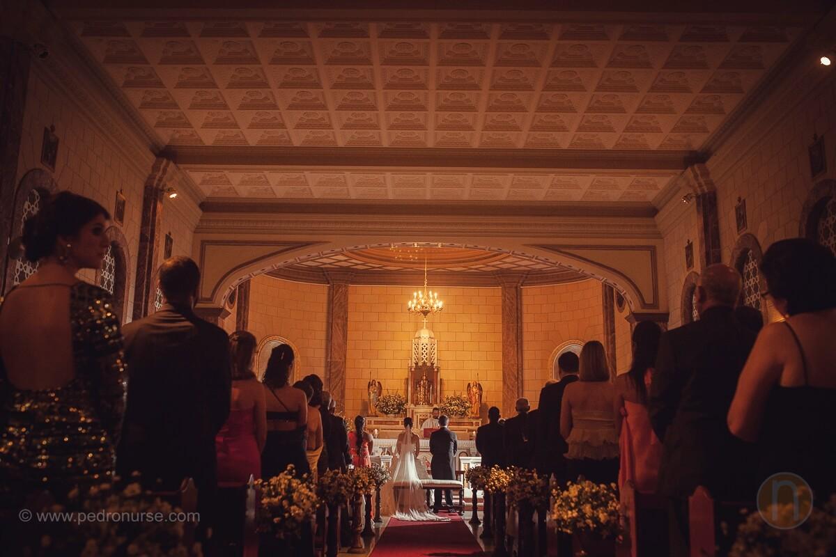 fotos de boda en capilla colegio belen caracas