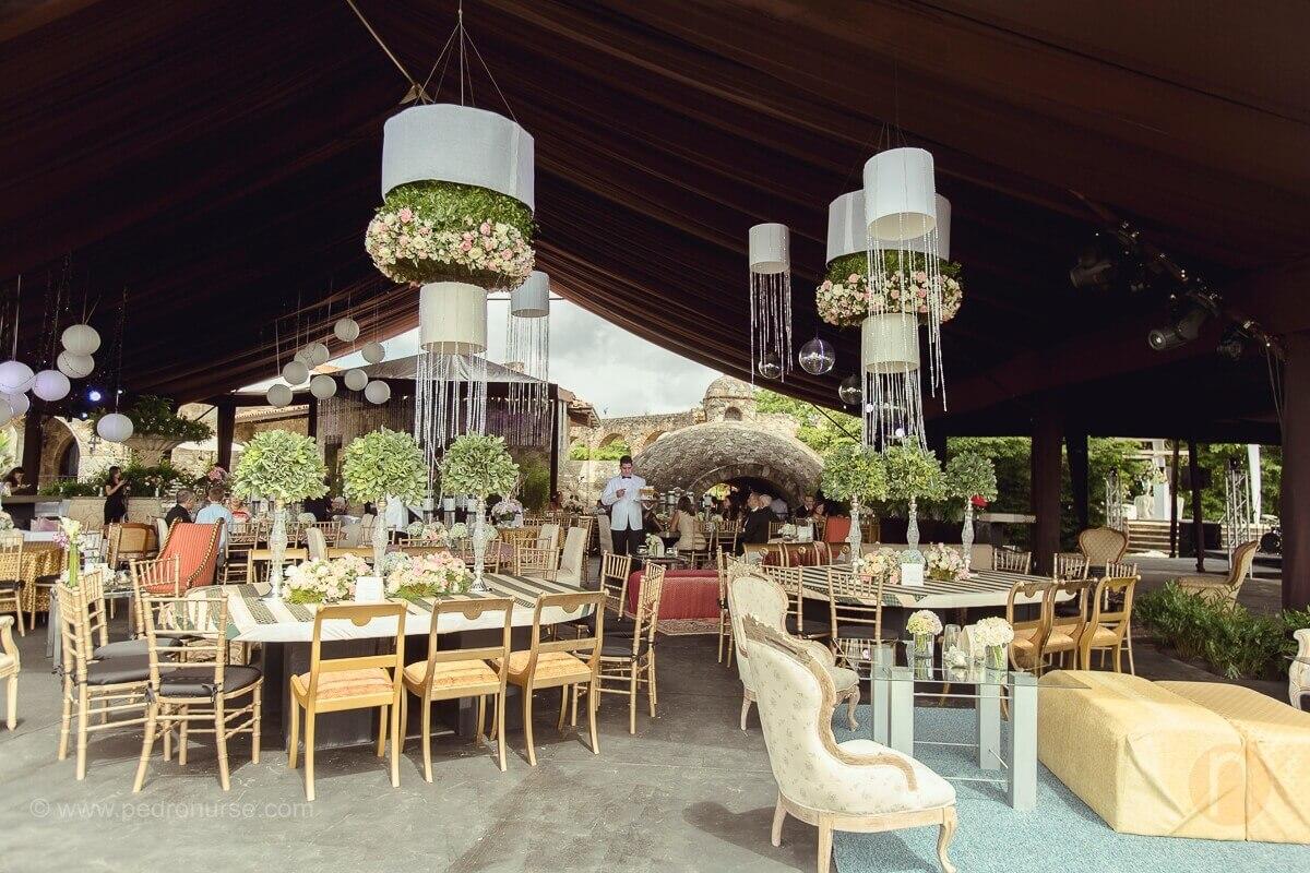 fotos de decoracion de boda en quinta vista hermosa caracas
