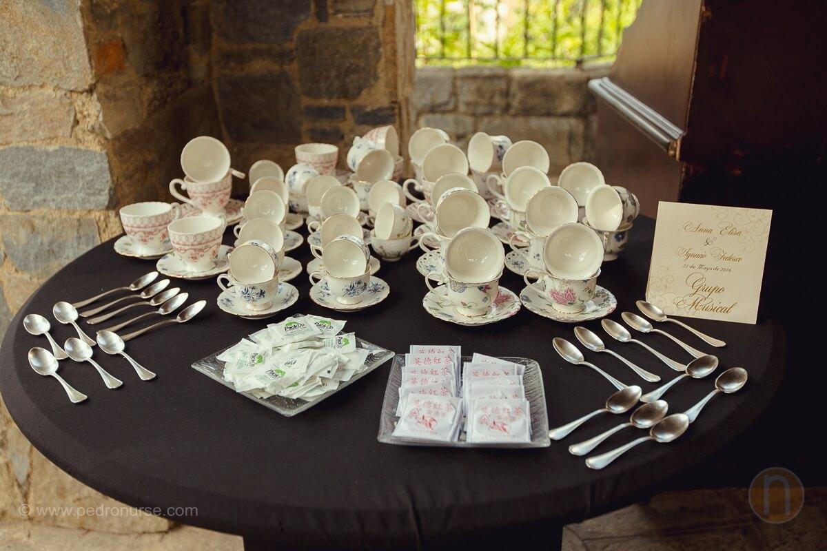 fotos de tazas de cafe especiales para boda en caracas