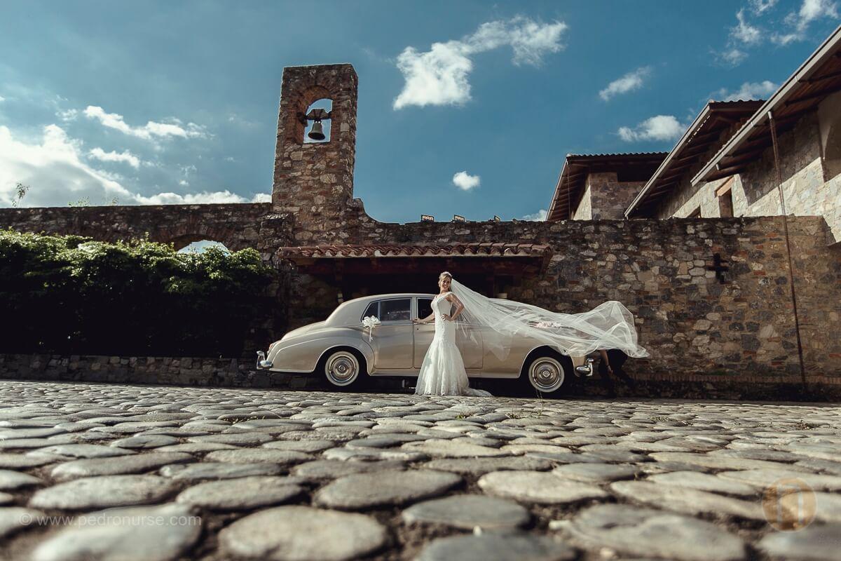 fotos novia boda en quinta vista hermosa san roman caracas