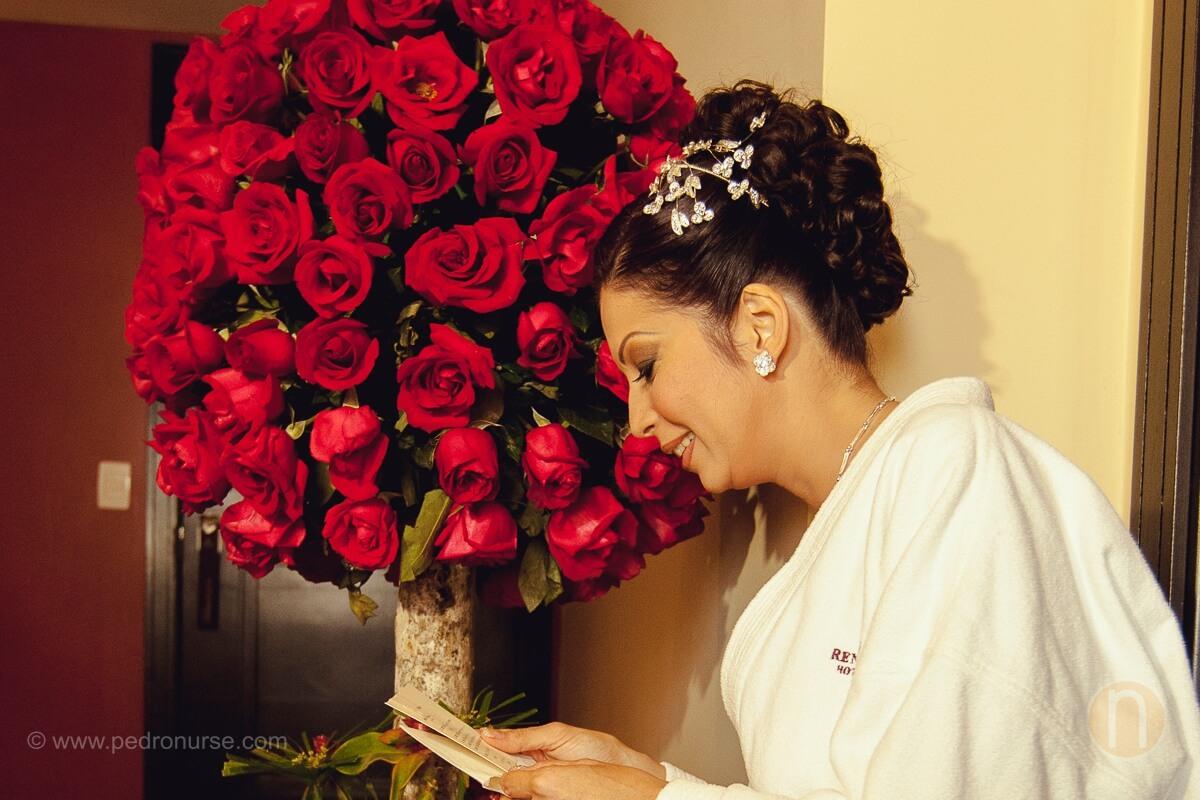 fotos de regalo para novia ramo de rosas