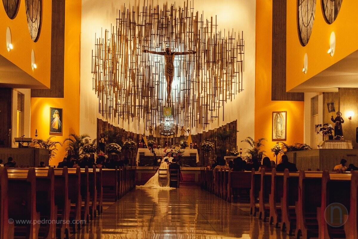 fotos de boda en iglesia san bernardino de siena caracas