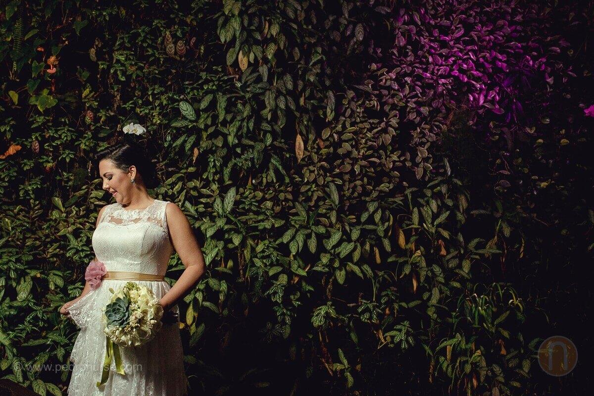 hermosa foto de novia en boda en caracas venezuela hotel renaissance