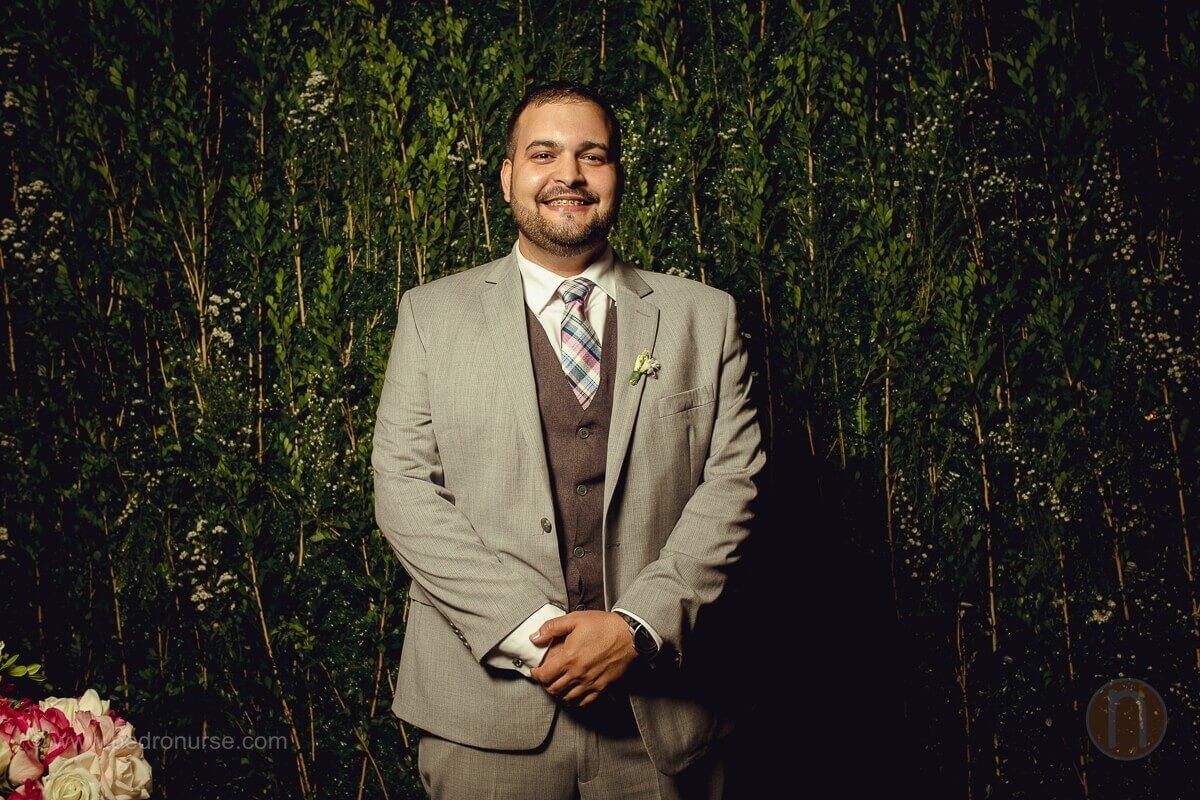 fotos de novio esperando a novia en altar boda civil caracas hotel renaissance